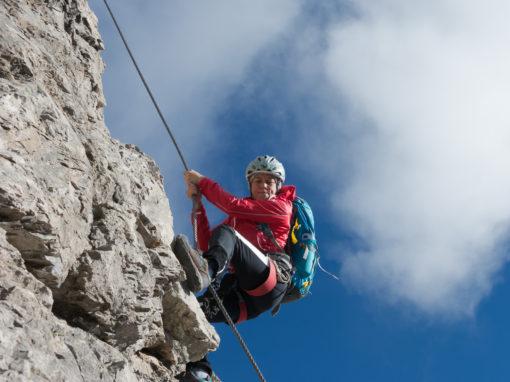 Klettersteig Wankspitze : Wank klettersteig obsteig tirol